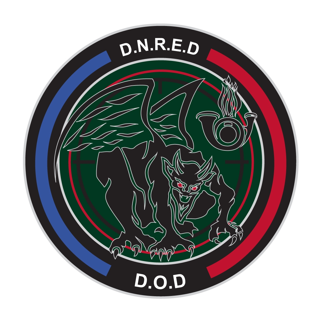 Ecusson DNRED-DOD
