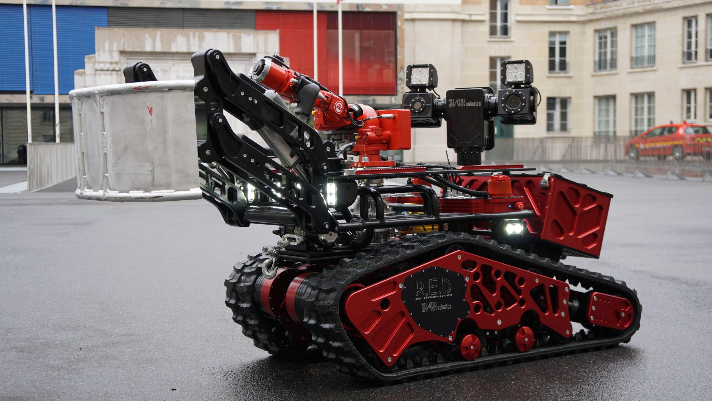 Colossus-Shark Robotics-Robot pompier BSPP