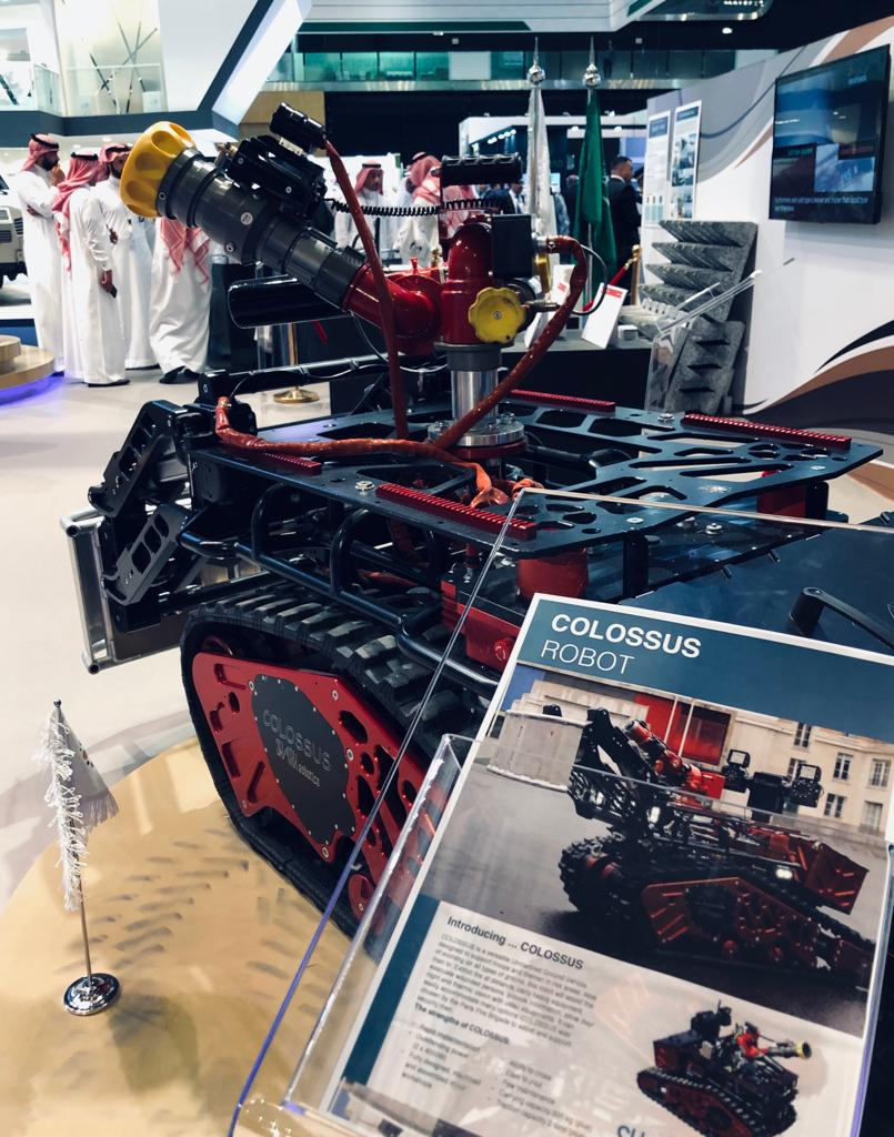 Shark Robotics-Colossus Idex 2019- AbuDhabi